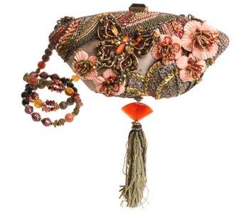 Mary Frances Cherry Blossom - Mary Frances handbag / minibag