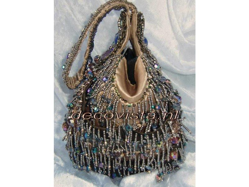 Mary Frances Ecstacy - Mary Frances handbag / minibag / evening bag / clutch