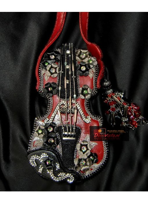 Mary Frances Floral violin - Minibag - Tasche