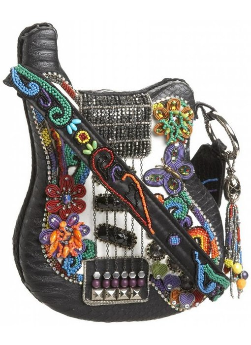 Mary Frances Good Vibes - designer minibag