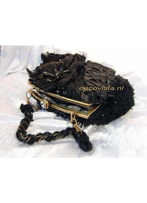 Mary Frances Night Watch - designer minibag