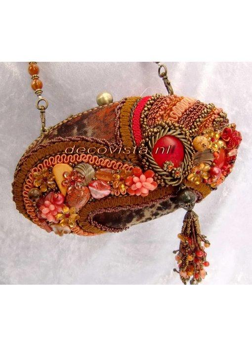 Mary Frances Sun Kiss Coral - Minibag - Tasche