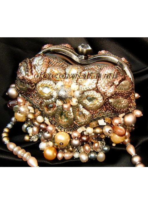 Mary Frances Mini Tasche -Take Heart