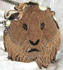 Mary Frances Hear me Roar - Mary Frances handbag / minibag