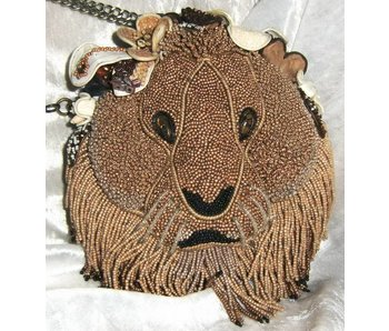 Mary Frances Hear me Roar - designer minibag