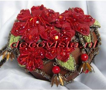 Mary Frances Tangled Love - designer minibag