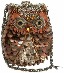 Mary Frances What a Hoot - Mary Frances handbag / minibag
