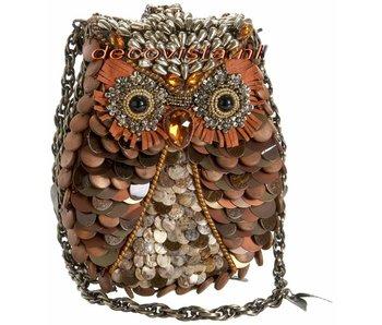 Mary Frances What a Hoot - designer minibag
