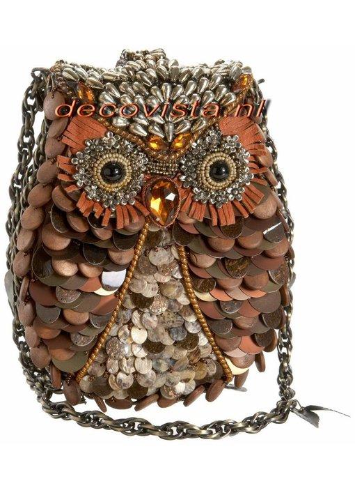 Mary Frances Evening bag Owl