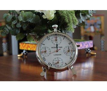 Tafelklok uurwerk met 5 tijden