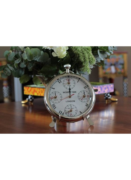 Table clock -- pocket watch model