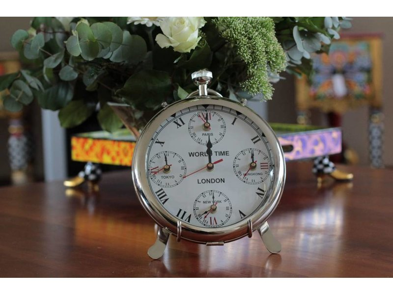 Table Clock Pocket Watch Model Decovista Colorful
