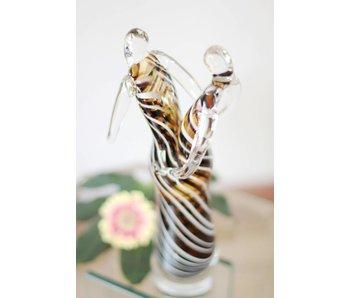 Vetro Gallery Glassculptuur Samba