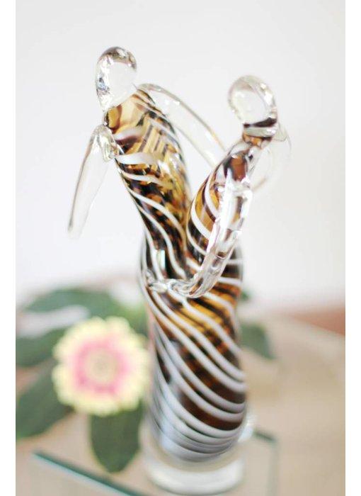 Vetro Gallery Glass Sculpture Samba