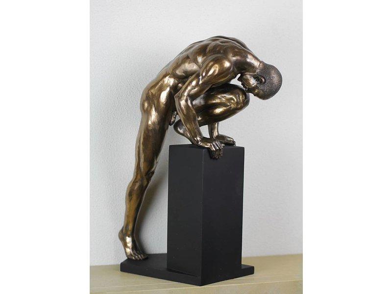 bodytalk stretching athleten bodybuilder skulptur l