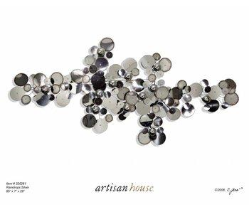 C. Jeré C. Jeré Wandskulptur Raindrops - silver