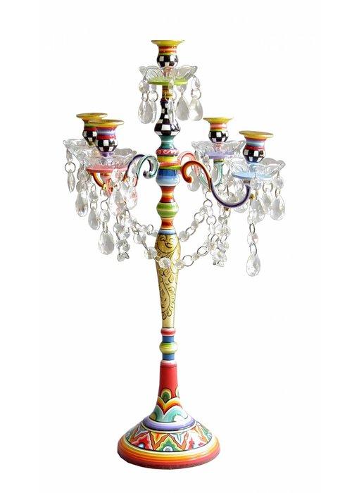 Toms Drag Kandelaar ca, 60 cm hoog - voor 5 kaarsen - M -