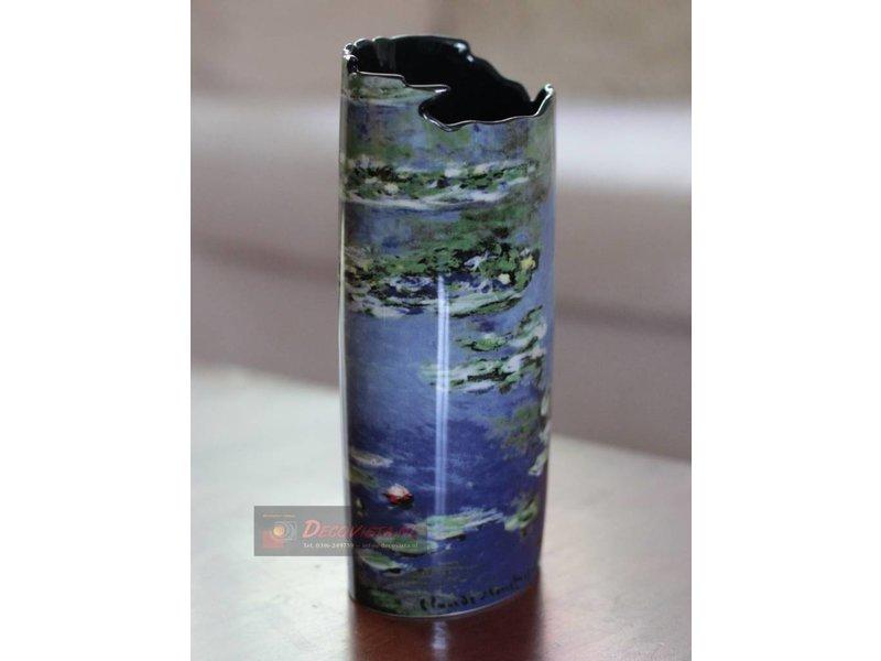 Silhouette d'Art - John Beswick Bloemenvaas - vaas Monet - Water Lillies
