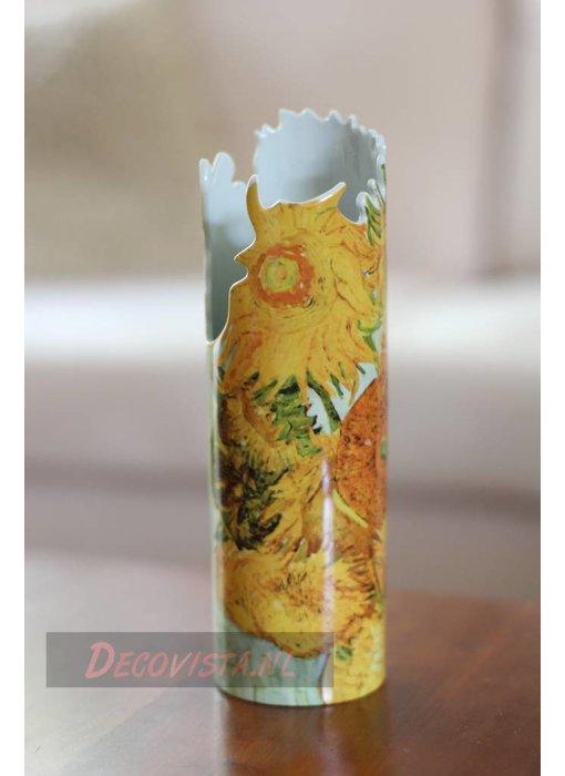 Silhouette d'Art - John Beswick Bloemenvaas - vaas Van Gogh - Zonnebloemen