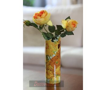 Silhouette d'Art - John Beswick Museum vase - Vincent Van Gogh Sunflowers