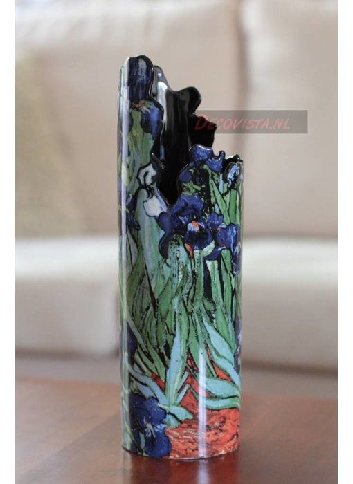 Silhouette d'Art - John Beswick Bloemenvaas - vaas Van Gogh - Irissen