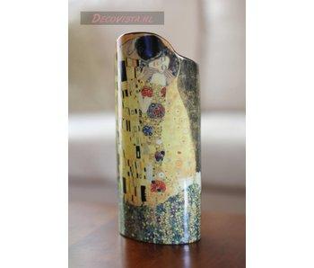 Silhouette d'Art - John Beswick Blumenvase - Klimt - Der Kuss