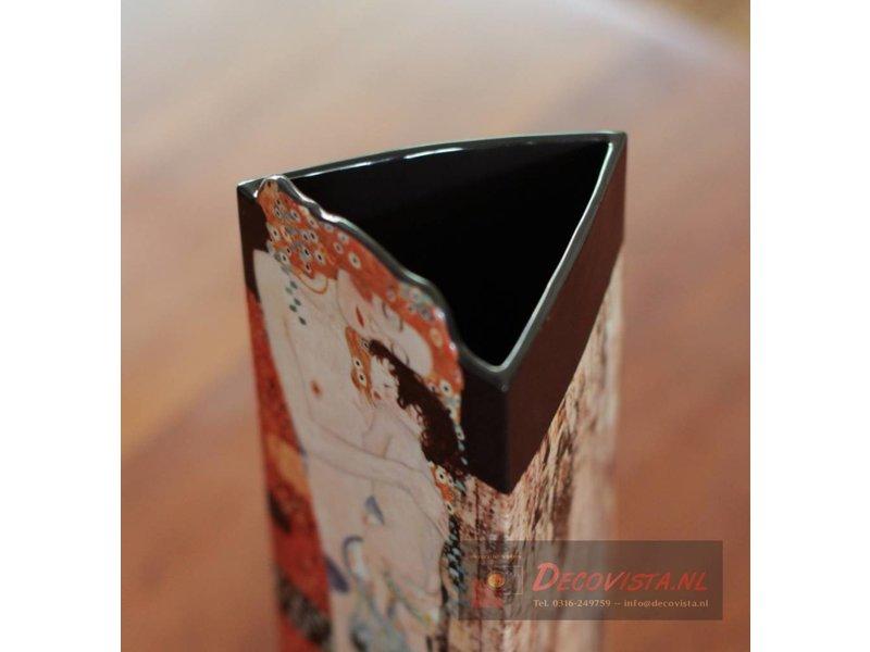 Silhouette d'Art - John Beswick Blumenvase - Klimt - Die drei Lebensalter der Frau