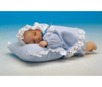 Musicboxworld Musicbox - Baby Junge auf einem Kissen