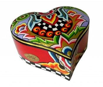 Toms Drag Heart box Large (LAST 2)