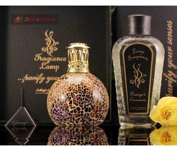 Ashleigh & Burwood Combiset geurlamp Golden Sunset - S  met lavendel