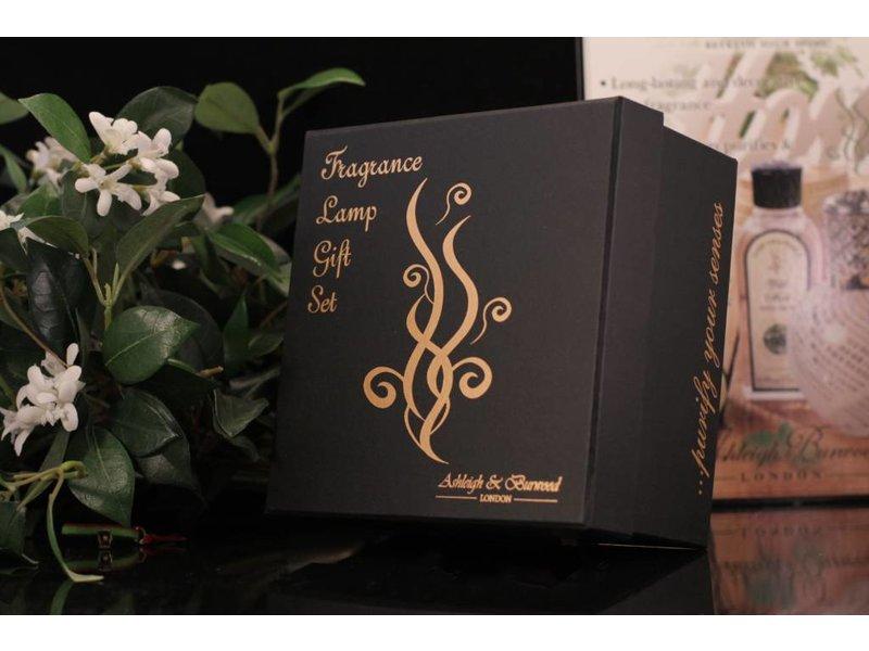 Ashleigh & Burwood Fragrance Lamp giftset Golden Sunset