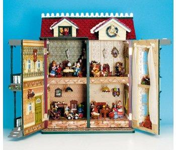 Musicboxworld Spieluhr Haus - Holz und Polystone