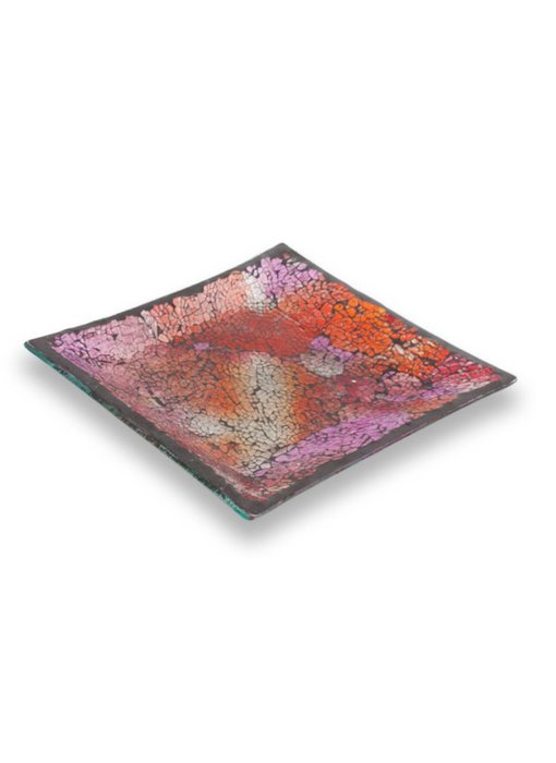 Ashleigh & Burwood Mosaik plate Patchwork Rose -M