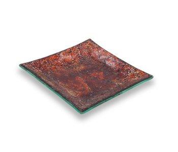 Ashleigh & Burwood Mosaik plate Desert Flame -M-