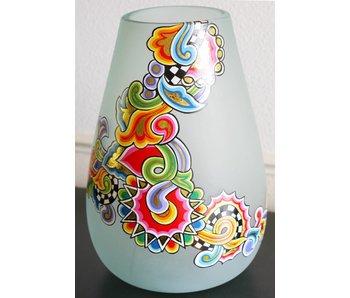 Toms Drag Mattierte runde Vase aus Glas