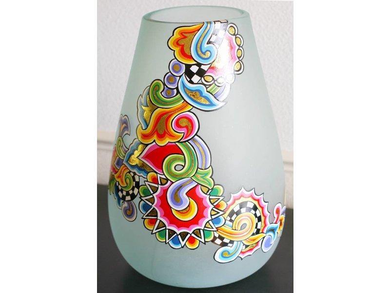 toms drag runde vase aus glas decovista interior. Black Bedroom Furniture Sets. Home Design Ideas