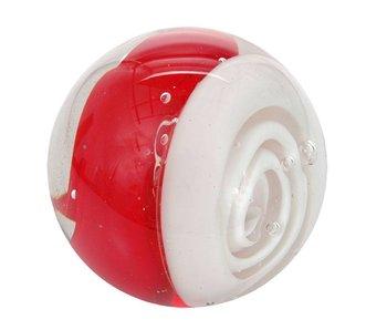 Glass ball paperweight