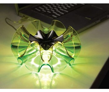 QisDesign Flamenca table lamp - GREEN