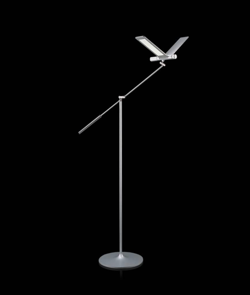 Qisdesign seagull led floor lamp reading lamp for Floor lamps reading lights