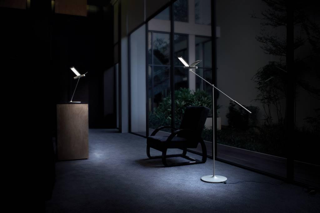 Led Floor Lamps Seagull Lamp Reading Intended Design Ideas