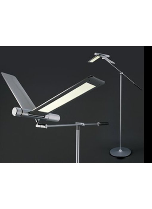 QisDesign Seagull LED Stehlampe - Leselicht