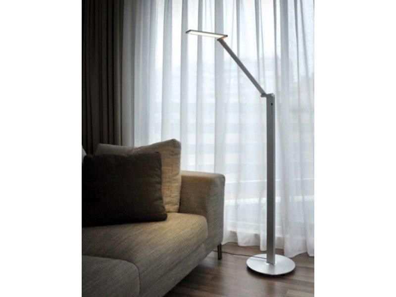 qisdesign be light led floor lamp reading lamp