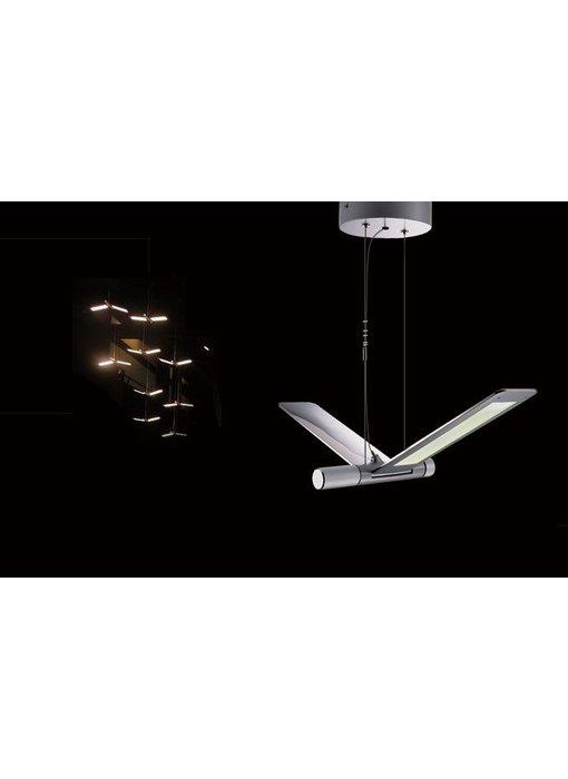 QisDesign Seagull - LED suspension light / reading lamp