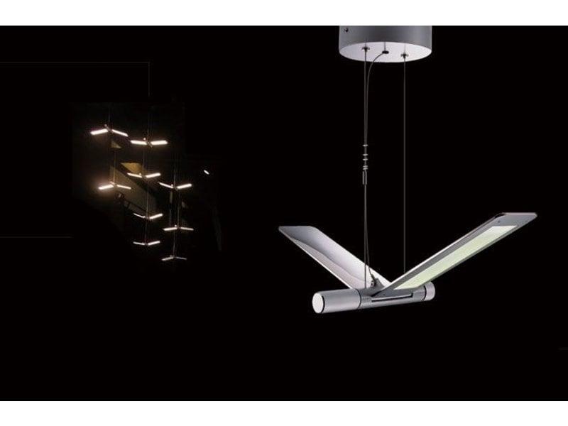 QisDesign Seagull - LED suspension light / reading lamp - DECOVISTA ...