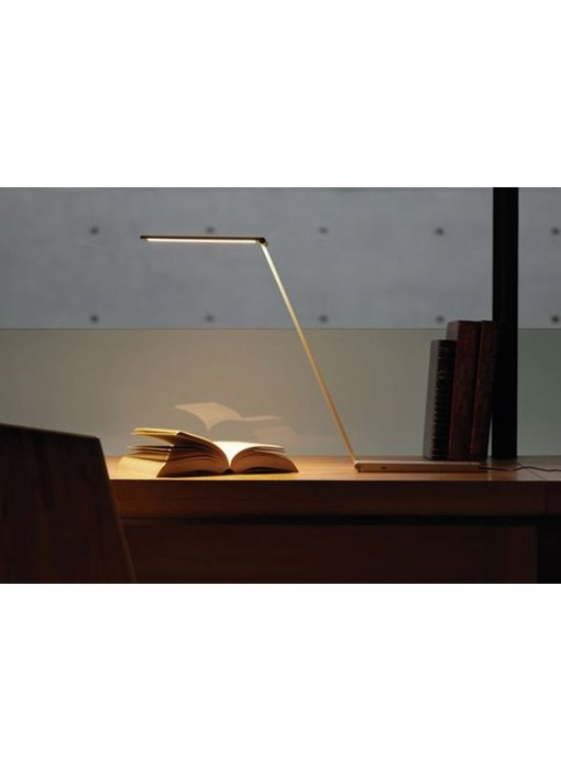 QisDesign Opvouwbare  bureaulamp BE-Light Alum.