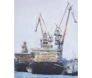 Painting with two tugs