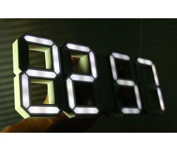 Kibardin White & White Schwarze digitale LED Uhr (erwartet Ende Oct 2016)