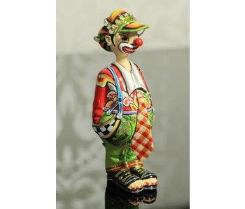 Toms Drag Clown Ugo, miniatuur clownsbeeldje