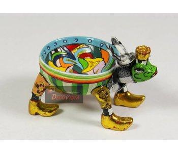 Toms Drag Kikkerschaaltje - XS miniatuur