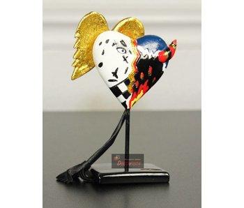 Toms Drag Hart Heaven & Hell XS miniatuur